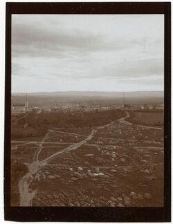Fotografie er-ramle v. Turm des burbars [Ramla, Weiße Moschee]