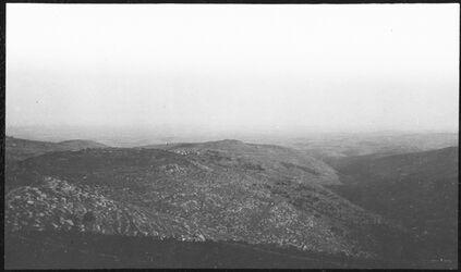 GDIs00392; Fotografie; v. el-ikbebe n. NW bet anan, aus Nachlass von rund 880 Fotografien von Valentin Schwöbel