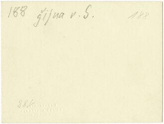 GDIs00400; Fotografie; gifna [dschifna, djifna] v. S., aus Nachlass von rund 880 Fotografien von Valentin Schwöbel