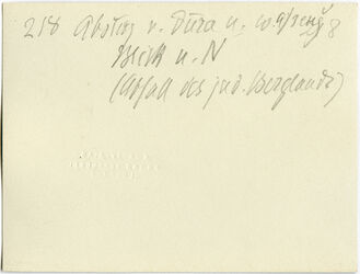 GDIs00431; Fotografie; Abstieg v. dura n w. [wadi] afreng [afrendsch, afrendj] Blick n. N (Abfall des jud. Berglands), aus Nachlass von rund 880 Fotografien von Valentin Schwöbel