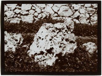 Fotografie Stein bei der Quelle von sel dilbe [Sel ed-dilbe]