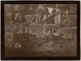 Fotografie Kirchenruine in ed-daharije