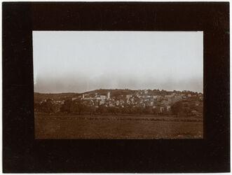 GDIs00446; Fotografie; Hebron mit haram v. SW, aus Nachlass von rund 880 Fotografien von Valentin Schwöbel