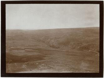 Fotografie Von el-ferdis n. S. w. [wadi] chritun [Herodium/Wadi charetun]
