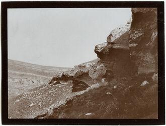 Fotografie Höhleneingang im w. [wadi] gihar [Wadi el Jihar]