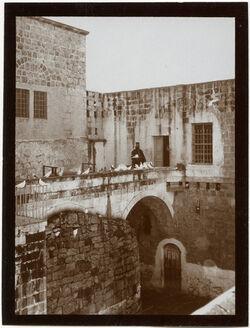 Fotografie im Hof von el-chadr