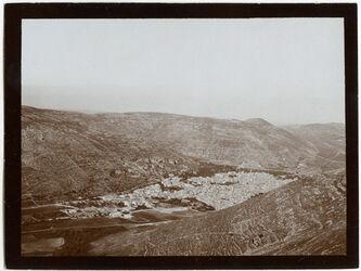 Fotografie nablus v. östl. Ebal