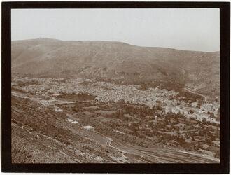 Fotografie nablus v. westl. Ebal