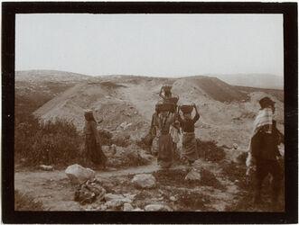 Fotografie Ausgrabungen in Megiddo [Tell el-Mutesellim]