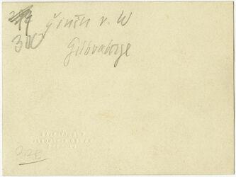 GDIs00511; Fotografie; ginin [dschinin, djinin] v. W Gilboaberge [Jenin/Gilboa], aus Nachlass von rund 880 Fotografien von Valentin Schwöbel