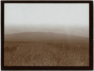 Fotografie g. [dschebel, djebel, Dschebel Ed-Dahi] ed-dahi v. NO v. Weg v. endur n. Nazareth