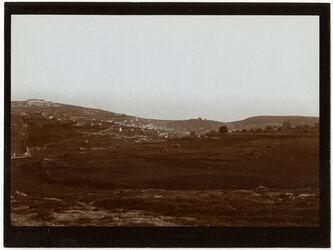 Fotografie Nazareth v. SW v. d. Strasse n. Haifa