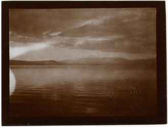 Fotografie See v. Tiberias Blick n NW (heidarkiu [?]) [See Genezareth]