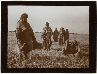 Fotografie Beduinen bei samach [See Genezareth]