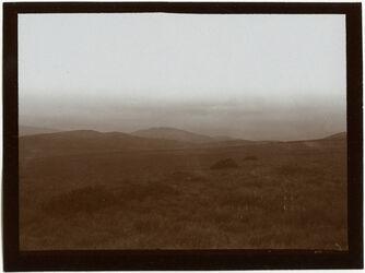 Fotografie Blick v. W. über die Ebene v.
