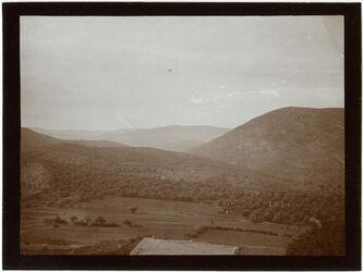 Fotografie Blick v. er-rame n S w. [wadi] sikame [rikume?]