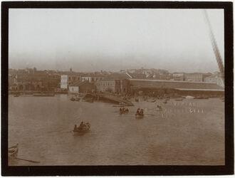 Fotografie Hafen, berut vom Schiff