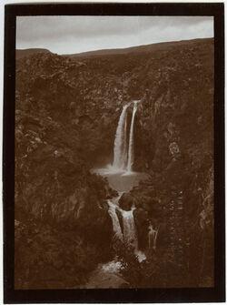 Fotografie w. es-saar Wasserfall [bei banyas]
