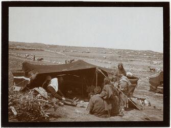 Fotografie bei kitim, im Bediunenzelt