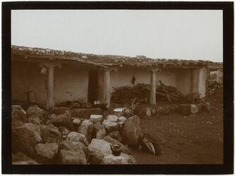 Fotografie Turkmanenhaus in er-rumman