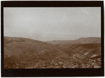 Fotografie Blick v. mekawer n W. von höherem Standtpunkt asl 455 [GDIs00648]
