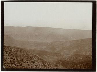 Fotografie w. [wadi] el-hesi, südl. Wand