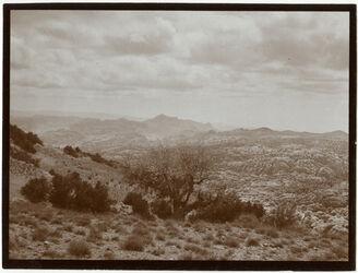 Fotografie Erster Blick auf n. harun v. NO [Petra, Umgebung]