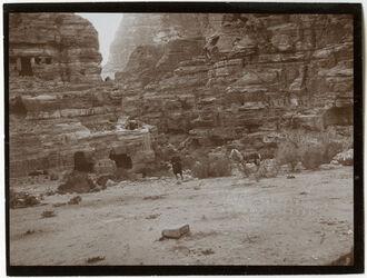 Fotografie bei elhabir, n essijas [Petra, Umgebung]
