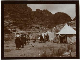 Fotografie Lager bei el-habis [Petra, Umgebung]