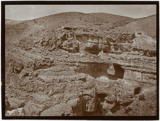 Fotografie w. kelt linke Talwand [wadi kelt]