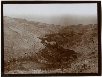 Fotografie Mühle im w. kelt v. W. [wadi kelt]