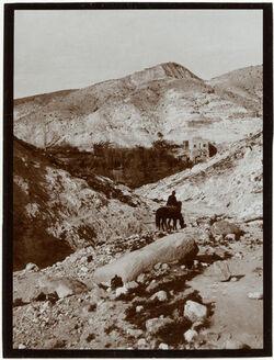 Fotografie Mühle im w. [wadi] kelt