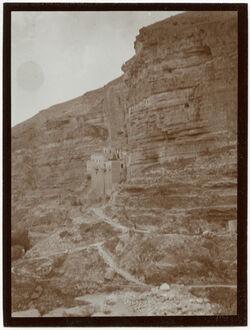 Fotografie Kelt Kloster [wadi kelt]