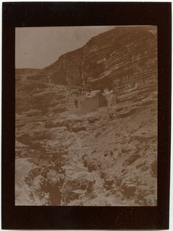 Fotografie Kloster im w. Kelt [wadi kelt]