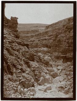 Fotografie w. ennar wilder Durchbruch [wadi en-nar]