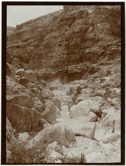Fotografie w. ennar, Talrinne [wadi en-nar]