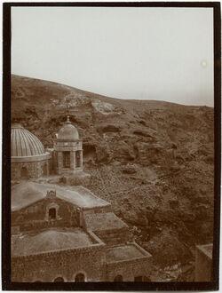 Fotografie Marsaba, Kirche v. S [mar saba]