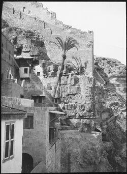 GDIs00771; Fotografie; Marsaba Blick n N [mar saba], aus Nachlass von rund 880 Fotografien von Valentin Schwöbel