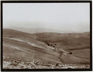 Fotografie Beduinenlager nahe dem Kamm des muntar [el muntar]