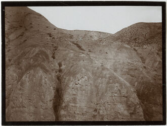 Fotografie Erosion im unteren w. mukellik [wadi mukellik] (in der kleinen buke