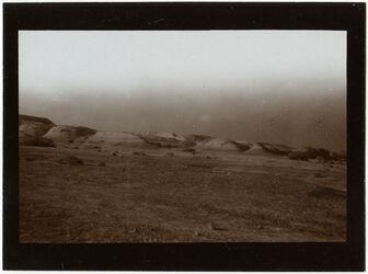 Fotografie Tafelbergland im Jordantal wohl südl. v. w. debr [wadi debr] Blick nordwärts