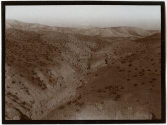 Fotografie Blick ins w. sammara [wadi samara] bei ras fescha