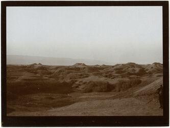 Fotografie Mergellandschaft westl. vom Jordan