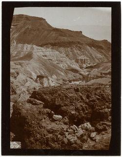 Fotografie Kasr ez-zuwera v. oben [mizpe zohar]