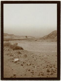 Fotografie im wadi mhanwat [?] Blick n. N.