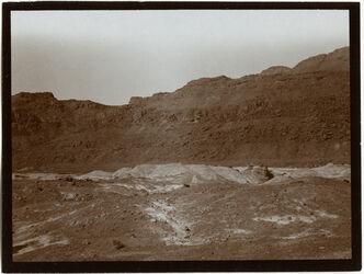Fotografie Mergellandschaft bei sebbe [Masada, es-sebbe]