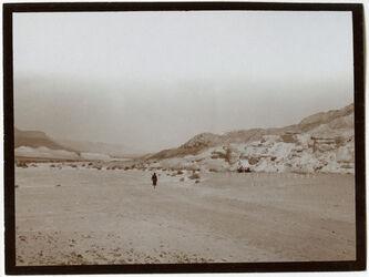 Fotografie w. [wadi] mhanwat [?], Blick n. N cf 728 [fehlt im Bestand]
