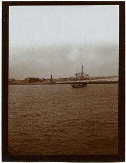 Fotografie Portsaid, Einfahrt [Port Said]