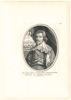Porträtgrafik Torstenson, Leonard, Graf v. (1603-1651)