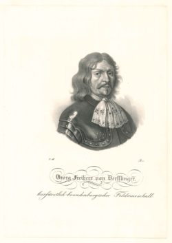 Porträtgrafik Derfflinger, Georg Freiherr von (1606-1695)